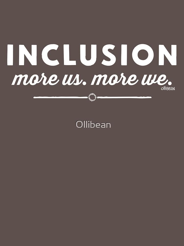 """""""Inklusion, mehr uns, mehr wir"""" von Ollibean"""