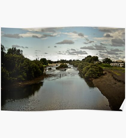 Waterscape, Illawarra: Lake Windmere in Barrack Heights Poster