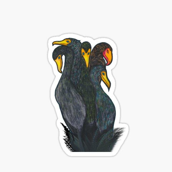 Cormorant Bouquet Sticker