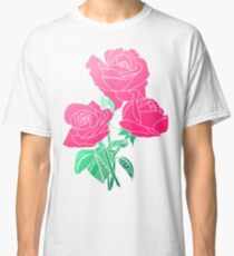 Flowers - Pink Rose Classic T-Shirt