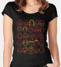 Treacherous Minimalism Women's Fitted Scoop T-Shirt