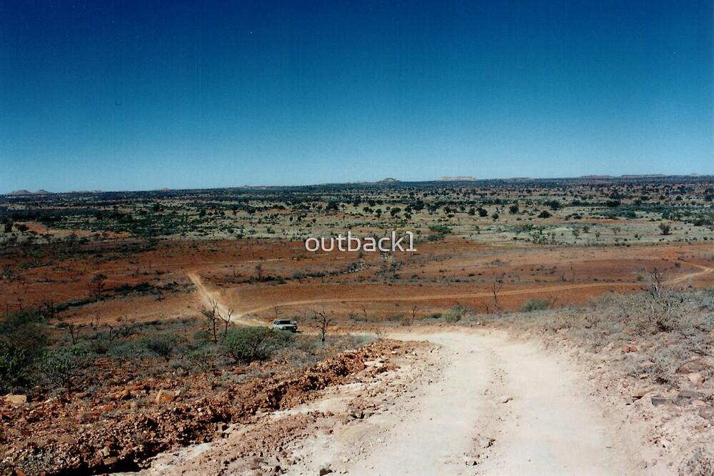 Desert Tracks by outback1