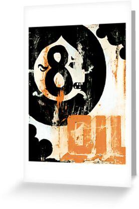 Eight Ball Oil by christopher  nielsen