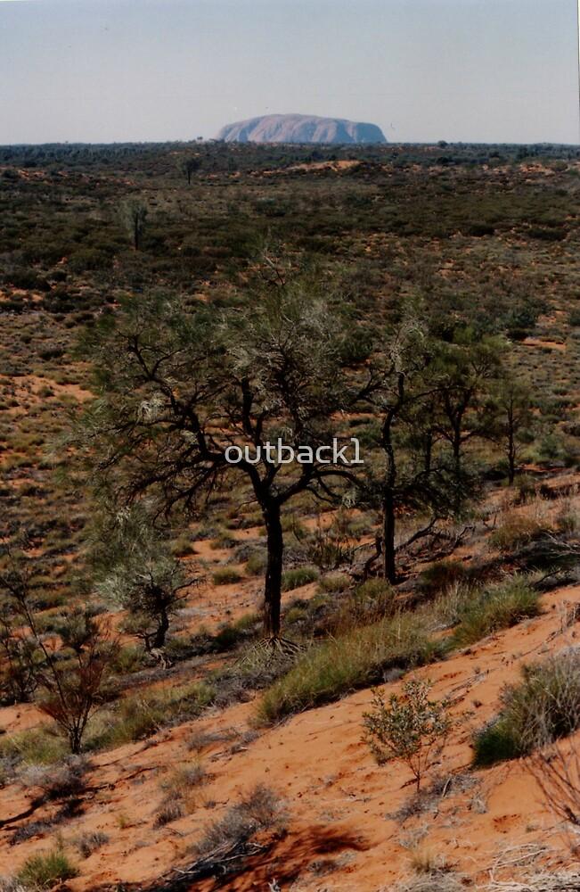 Uluru by outback1
