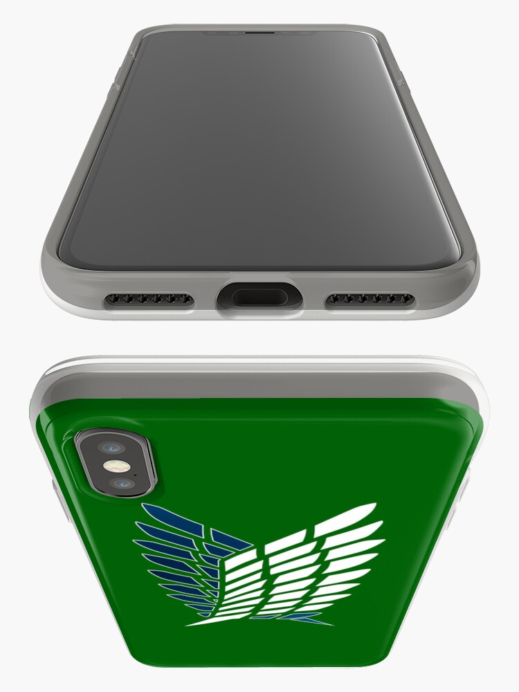Alternate view of Survey Corps logo iPhone Case & Cover