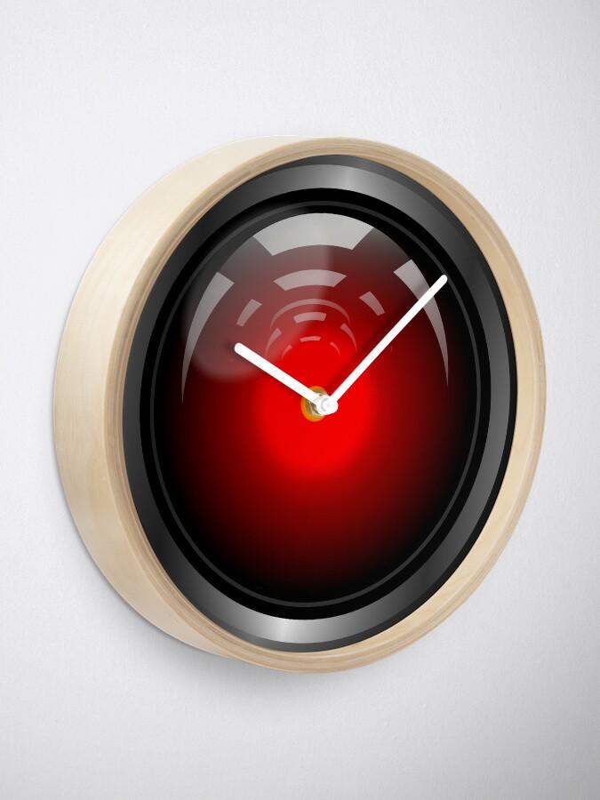 Alternate view of Hal 9000 (updated) Clock