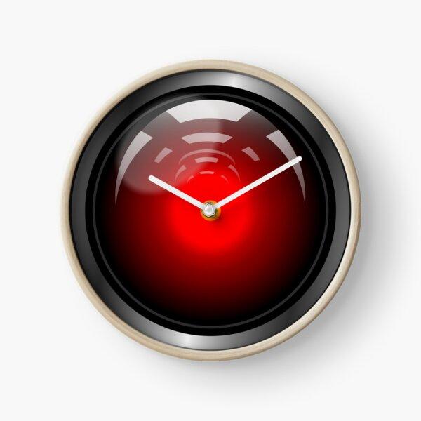 Hal 9000 (updated) Clock