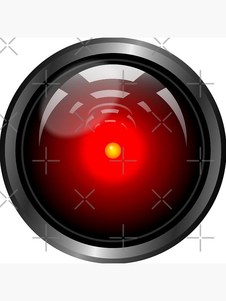 Hal 9000 (updated) by muskitt