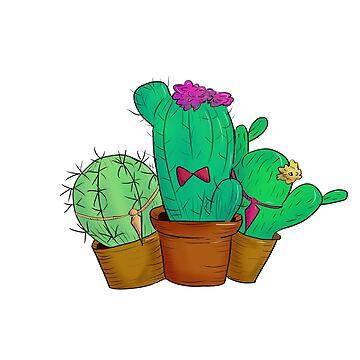 Cacti(e) by nagayama