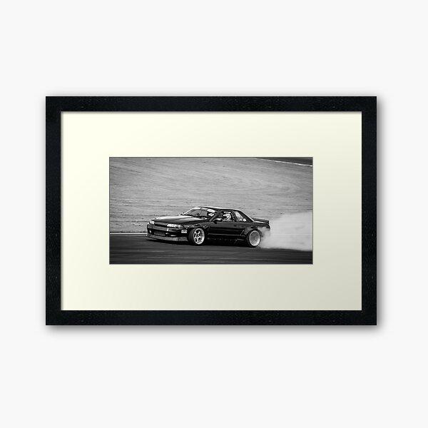 Nissan r33 Skyline  Framed Art Print