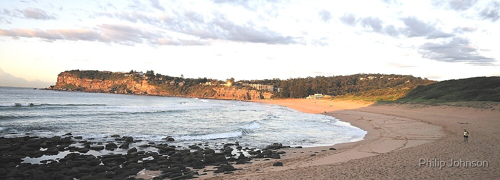 Avalon Sunrise - Avalon Beach , Sydney Australia by Philip Johnson