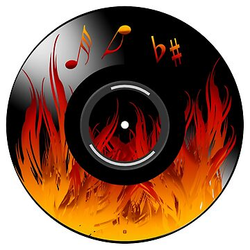 Burning Hot Music by vysolo