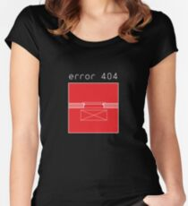 Archi Error 404 THE WARDROBE Women's Fitted Scoop T-Shirt