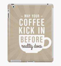 Coffee Reality iPad Case/Skin