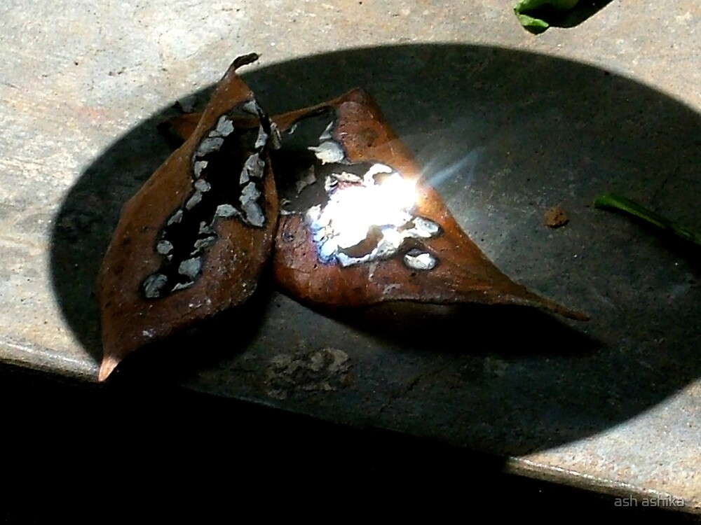 its still burning... by ash ashika