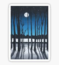 Moonlit Night Sticker