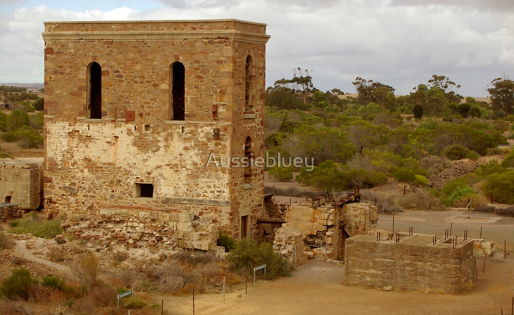 Old Copper Mill 2 by Aussiebluey