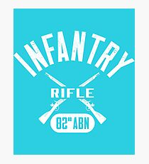 82nd ABN Military Infantry Design Photographic Print