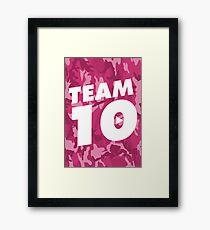 TEAM 10 Framed Print