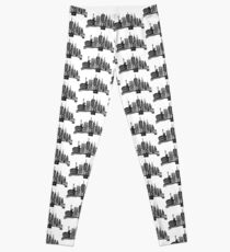 Linocut New York Leggings