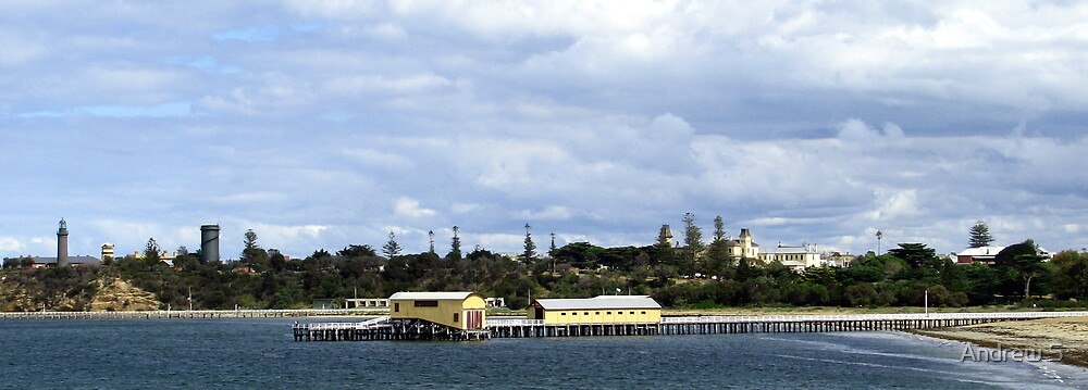 Picturesque Queenscliff by Andrew S