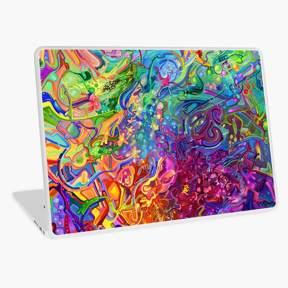 This Page Intentionally Left Blank - Digital Art & Painting Laptop Skin