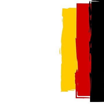 Artsy German Flag by corcora2