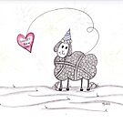 Happy New Year to Ewe by Christianne Gerstner