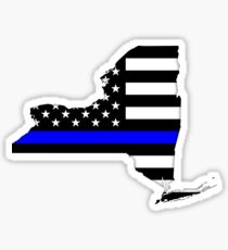 New York — Thin Blue Line Sticker