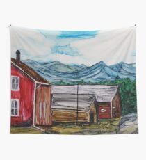 Bar-U Ranch Wall Tapestry
