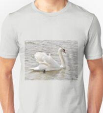 Swan On The Dart Unisex T-Shirt