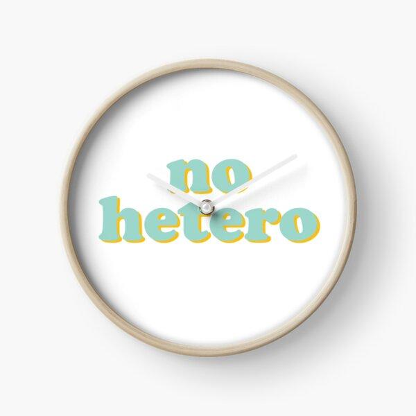 no hetero  Clock