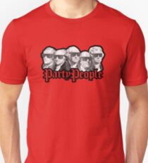Party People July 4th American History T-Shirt
