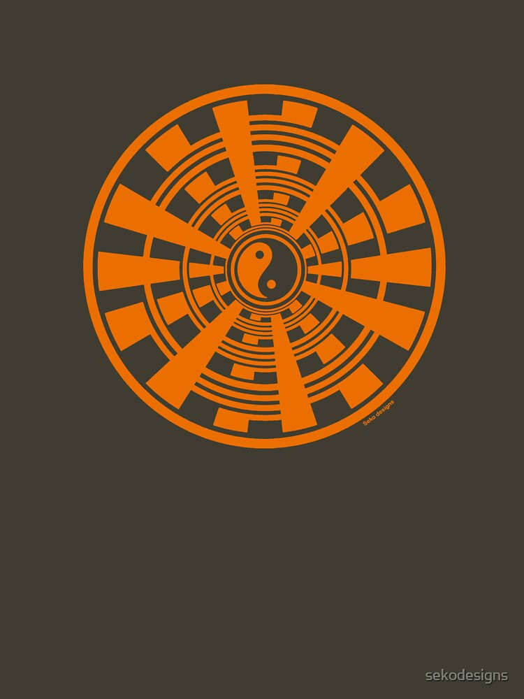 Mandala 36 Yin-Yang Vitamin C by sekodesigns
