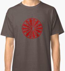 Mandala 36 Yin-Yang Colour Me Red Classic T-Shirt