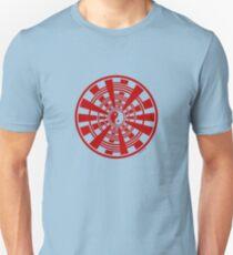 Mandala 36 Yin-Yang Colour Me Red Unisex T-Shirt
