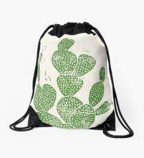 Mochila saco Cactus Linocut # 1