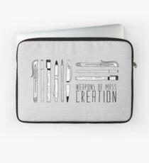 Funda para portátil Armas de creación masiva (en gris)