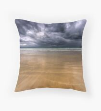 I think it's about to Rain Throw Pillow