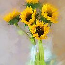 Sunflowers  by M S Photography/Art