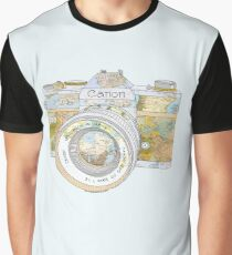REISE CAN0N Grafik T-Shirt