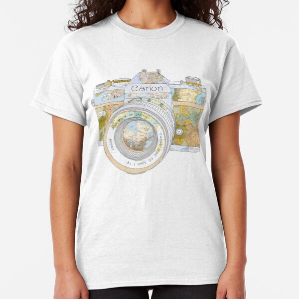 TRAVEL CAN0N Classic T-Shirt