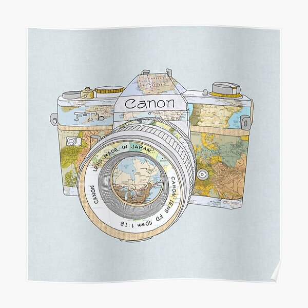 TRAVEL CAN0N Poster