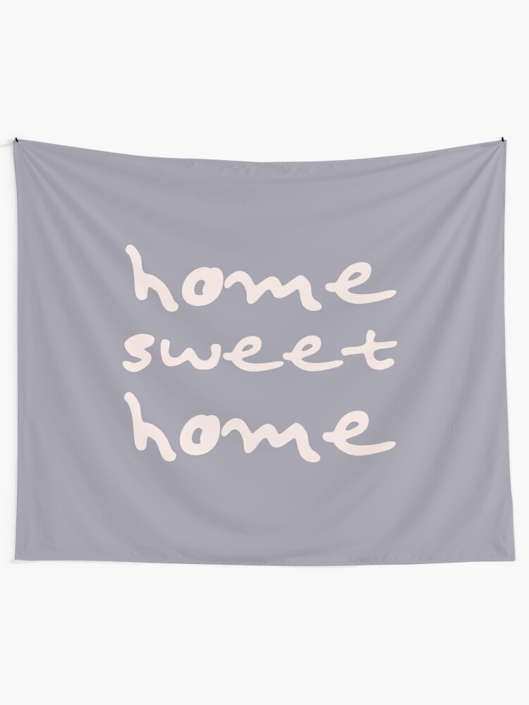 Alternate view of Home Sweet Home Tapestry