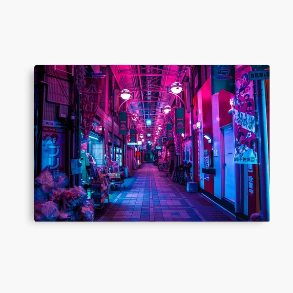 ENTRANCE TO THE NEXT DIMENSION Canvas Print