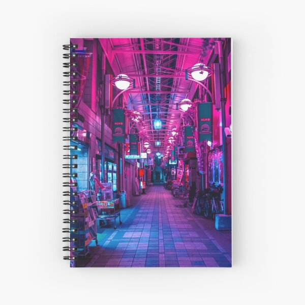 ENTRANCE TO THE NEXT DIMENSION Spiral Notebook