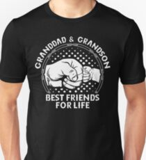 Grandad Grandson Best Friends - Fathers Day Gift T-Shirt