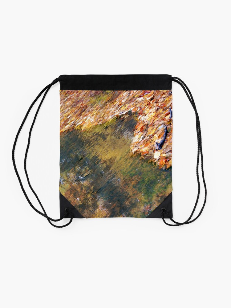 Alternate view of Monet's Mirror Drawstring Bag