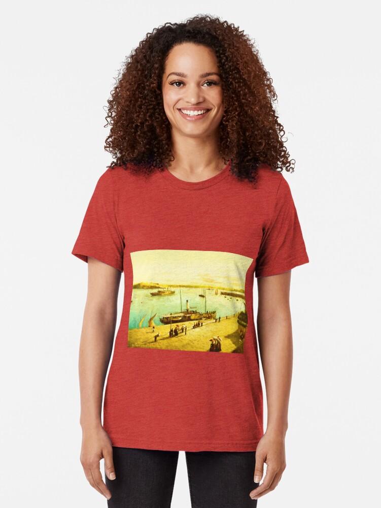 Alternate view of Harbour Parasols Tri-blend T-Shirt