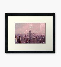 Stardust Covering New York Framed Print